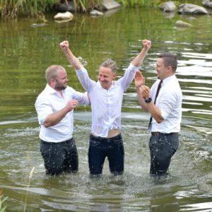 Sei kein Vers-35-Christ – lass dich taufen!