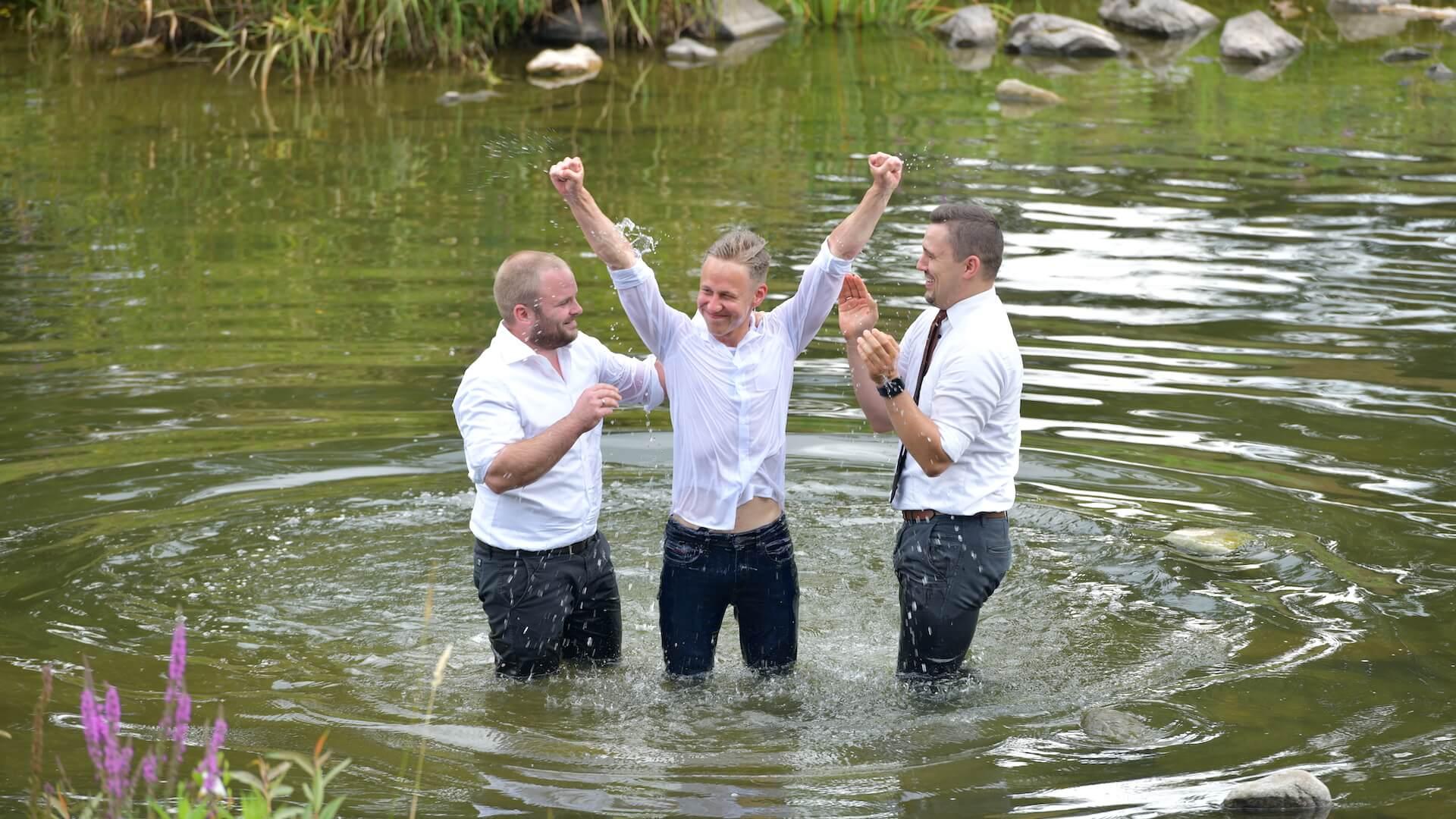 Taufe von David